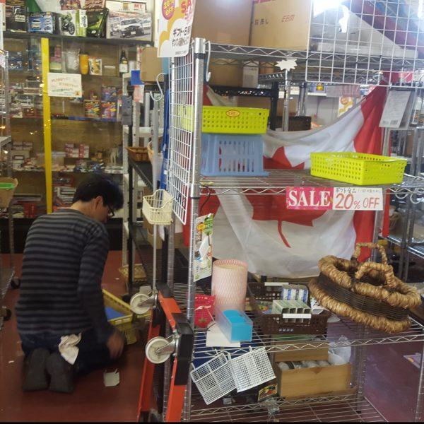リサイクルショップ閉店品の引き取り【愛知県】